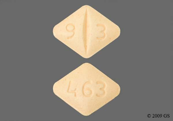 Peach Diamond 9 3 And 463 - Lamotrigine 100mg Tablet