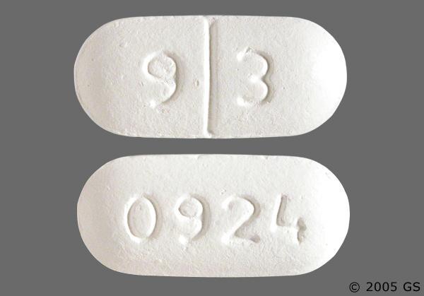 White Oblong Pill Images