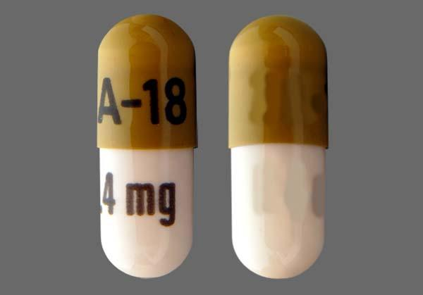 Green And Peach Za-18 0.4 Mg - Tamsulosin Hydrochloride 0.4mg Capsule