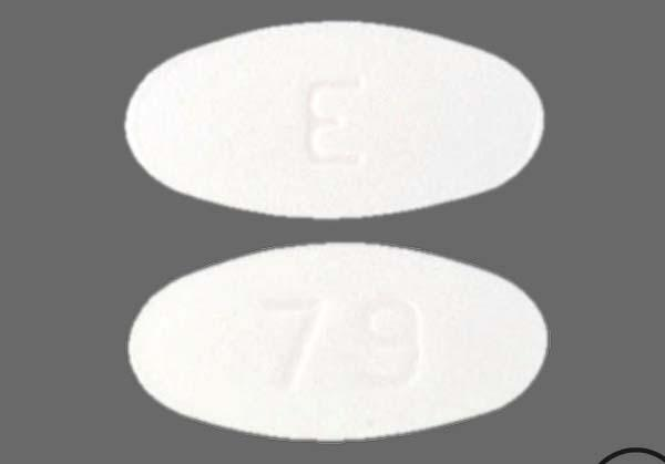 White Oval E And 79 - Zolpidem Tartrate 10mg Tablet