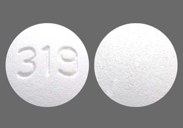 White Round 319 - Tramadol Hydrochloride 50mg Tablet