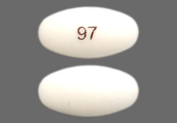 White Oval 97 - Pantoprazole Sodium 40mg Delayed-Release Tablet