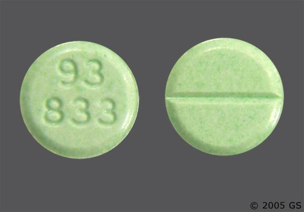 what color is clonazepam 1mg