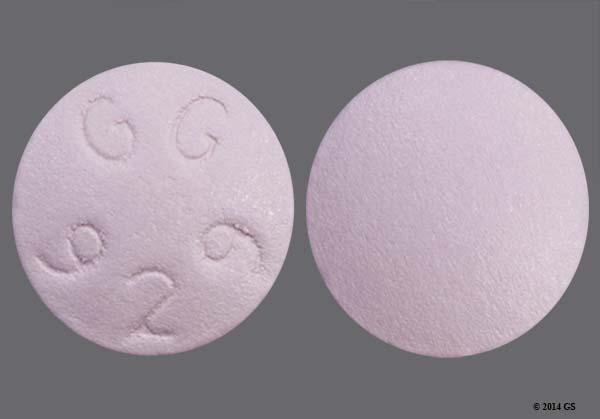 Purple Round Gg 929 - Bupropion Hydrochloride 75mg Tablet