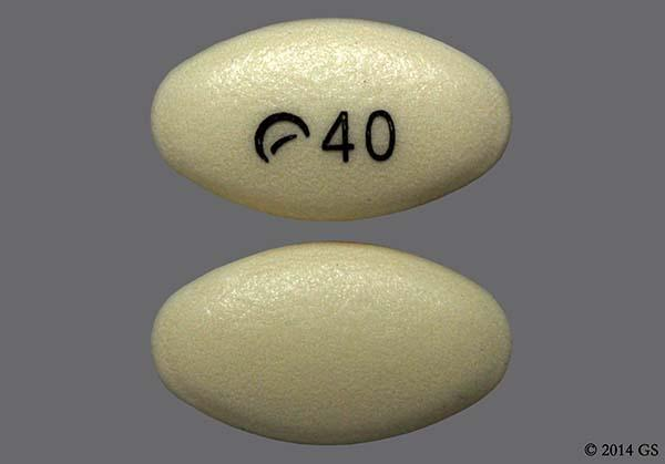 Yellow Oval Logo 40 - Pantoprazole Sodium 40mg Delayed-Release Tablet