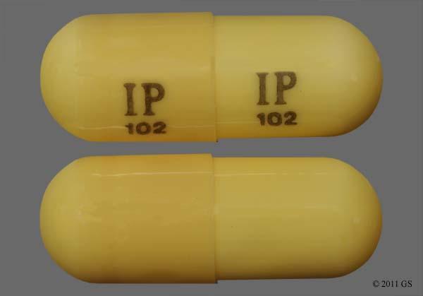Beige Ip 102 Ip 102 - Gabapentin 300mg Capsule