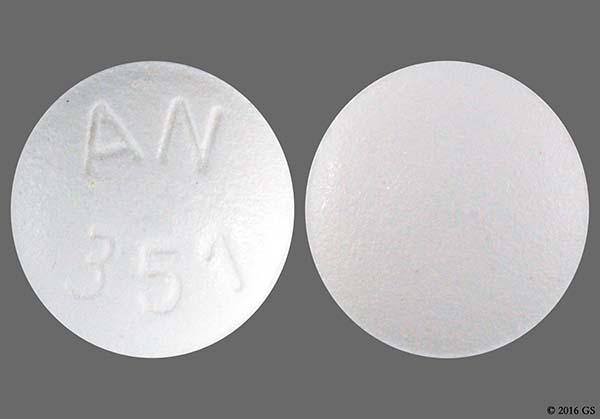 White Round An 351 - Sildenafil Citrate 20mg Tablet