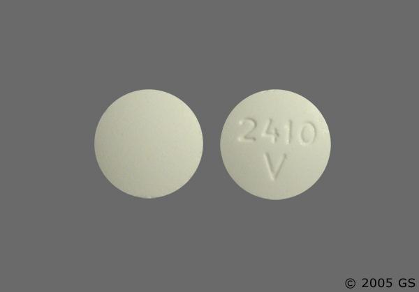 carisoprodol white round pill