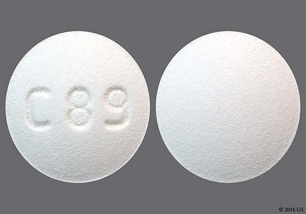 White Round C 89 - Sildenafil Citrate 20mg Tablet