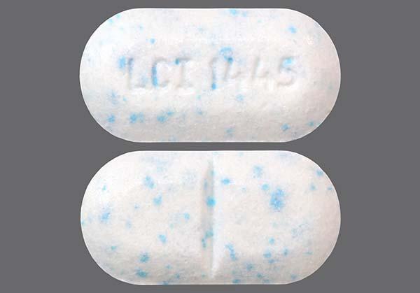 White Oblong Lci 1445 - Phentermine Hydrochloride 37.5mg Tablet