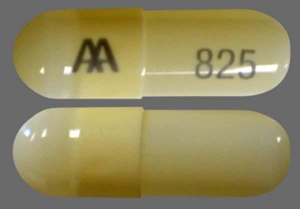 Beige Aa 825 - Amoxicillin 500mg Capsule