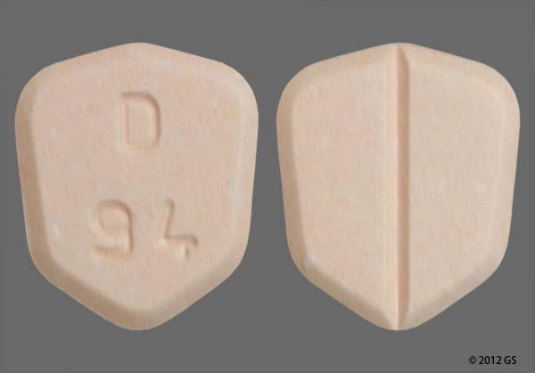 Peach Shield D 94 - Lamotrigine 100mg Tablet