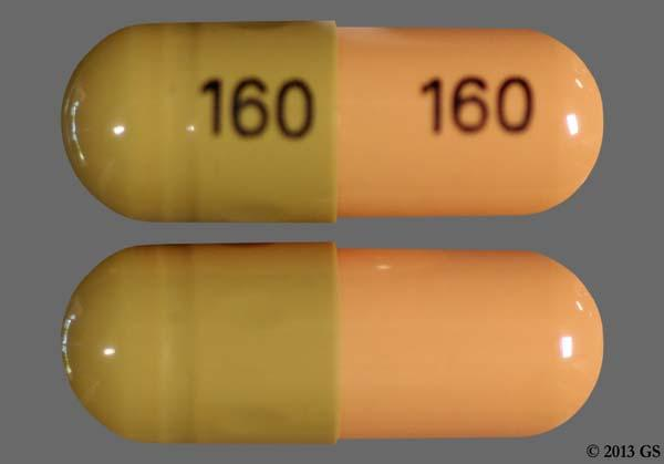 Green And Yellow 160 160 - Tamsulosin Hydrochloride 0.4mg Capsule
