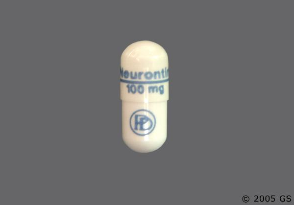 neurontin 100mg capsules information