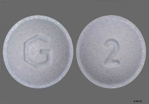 round blue xanax dose