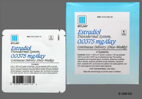 Estradiol Patch Mylan