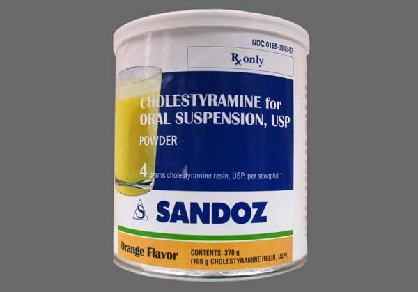 Cholestyramine Coupon - Cholestyramine 378g of 4g/dose can of powder