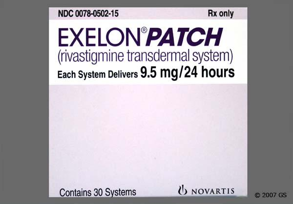 Exelon patch cost