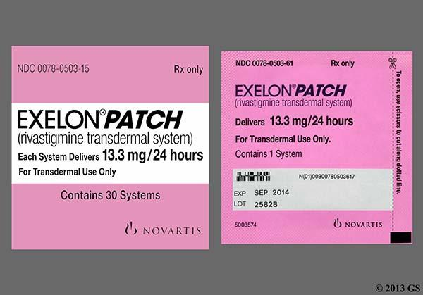 Exelon pills or patch