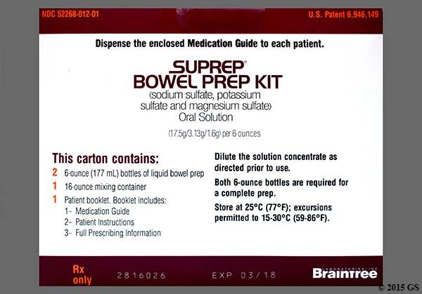 What Is Suprep Bowel Prep Goodrx