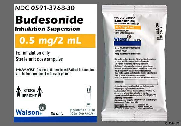 Budesonide Images And Labels Goodrx