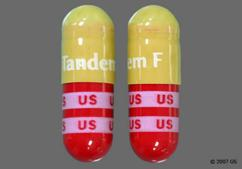 Tandem F Coupon - Tandem F 90 capsules of 53mg/53mg/1mg bottle