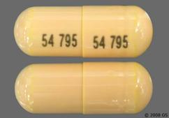 Orange Capsule 54 795 54 795 - Balsalazide Disodium 750mg Capsule
