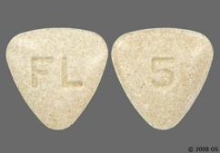 Beige Triangle Tablet 5 And Fl - Bystolic 5mg Tablet