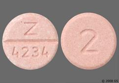 Peach Round Tablet 2 And Z 4234 - Bumetanide 2mg Tablet