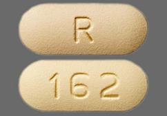 Yellow Oblong Tablet R And 162 - Ofloxacin 400mg Tablet
