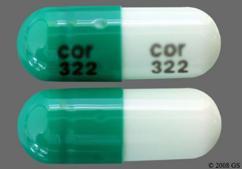 Green Capsule Cor 322 Cor 322 - Zaleplon 5mg Capsule