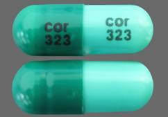 Green Capsule Cor 323 Cor 323 - Zaleplon 10mg Capsule