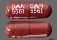 Brown Capsule Dan 5561 Dan 5561 - Disopyramide Phosphate 150mg Capsule