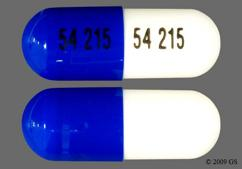 Blue And White Capsule 54 215 54 215 - Calcium Acetate 667mg Capsule