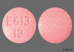 Red Round Tablet E613 10 - Opana 10mg Tablet