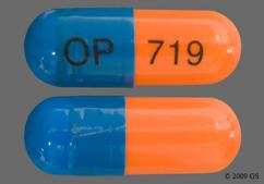 Blue And Orange Capsule Op 719 - Surmontil 50mg Capsule