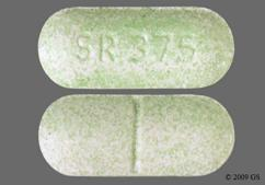 Green Oblong Tablet Sr 375 - HyoMax-SR 0.375mg Sustained-Release Tablet