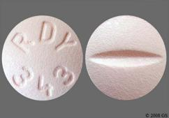 Pink Round Tablet Rdy 343 - Citalopram Hydrobromide 20mg Tablet