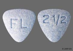 Blue Triangle Tablet Fl And 2 1/2 - Bystolic 2.5mg Tablet