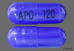 Blue Capsule Apo 120 - Diltzac 120mg Extended-Release Capsule