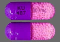 Purple Ku 487 300 Mg - Verapamil Hydrochloride 300mg Controlled-Onset Extended-Release Capsule