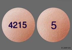 Pink Round Tablet 4215 And 5 - Onglyza 5mg Tablet