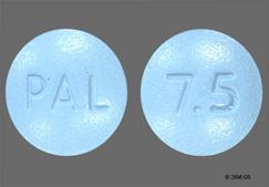 Blue Round Capsule Pal And 7.5 - Deplin 7.5mg Tablet