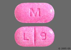 Pink Oblong Tablet M And L 9 - Levothyroxine Sodium 112mcg Tablet