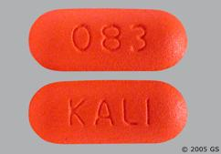 Orange Oblong Tablet 083 And Kali - Tramadol Hydrochloride/Acetaminophen 37.5mg-325mg Tablet