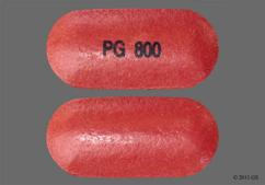 Red-Brown Oblong Tablet Pg 800 - Asacol HD 800mg Delayed-Release Tablet