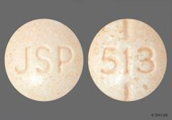 Peach Round Tablet 513 And Jsp - Levothyroxine Sodium 25mcg Tablet