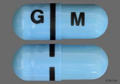 Blue G M - Apriso 0.375g Extended-Release Capsule