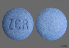 Blue Round Tablet Zcr - Zolpidem Tartrate 12.5mg Extended-Release Tablet