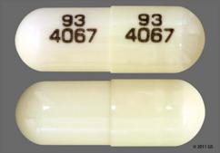 White Capsule Teva, 93 4067 93 4067, And 4067 - Prazosin Hydrochloride 1mg Capsule